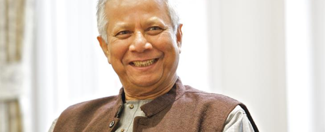 L'impresa sociale per Muhammad Yunus